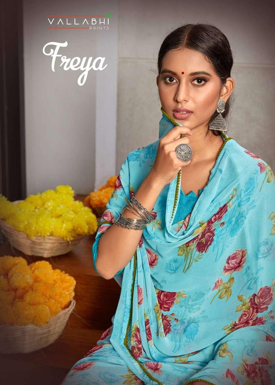 Vallabhi Prints Freya Weightless Printed sarees collection