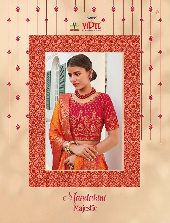 Vipul Mandakini Majestic Fancy Designer Sarees collection