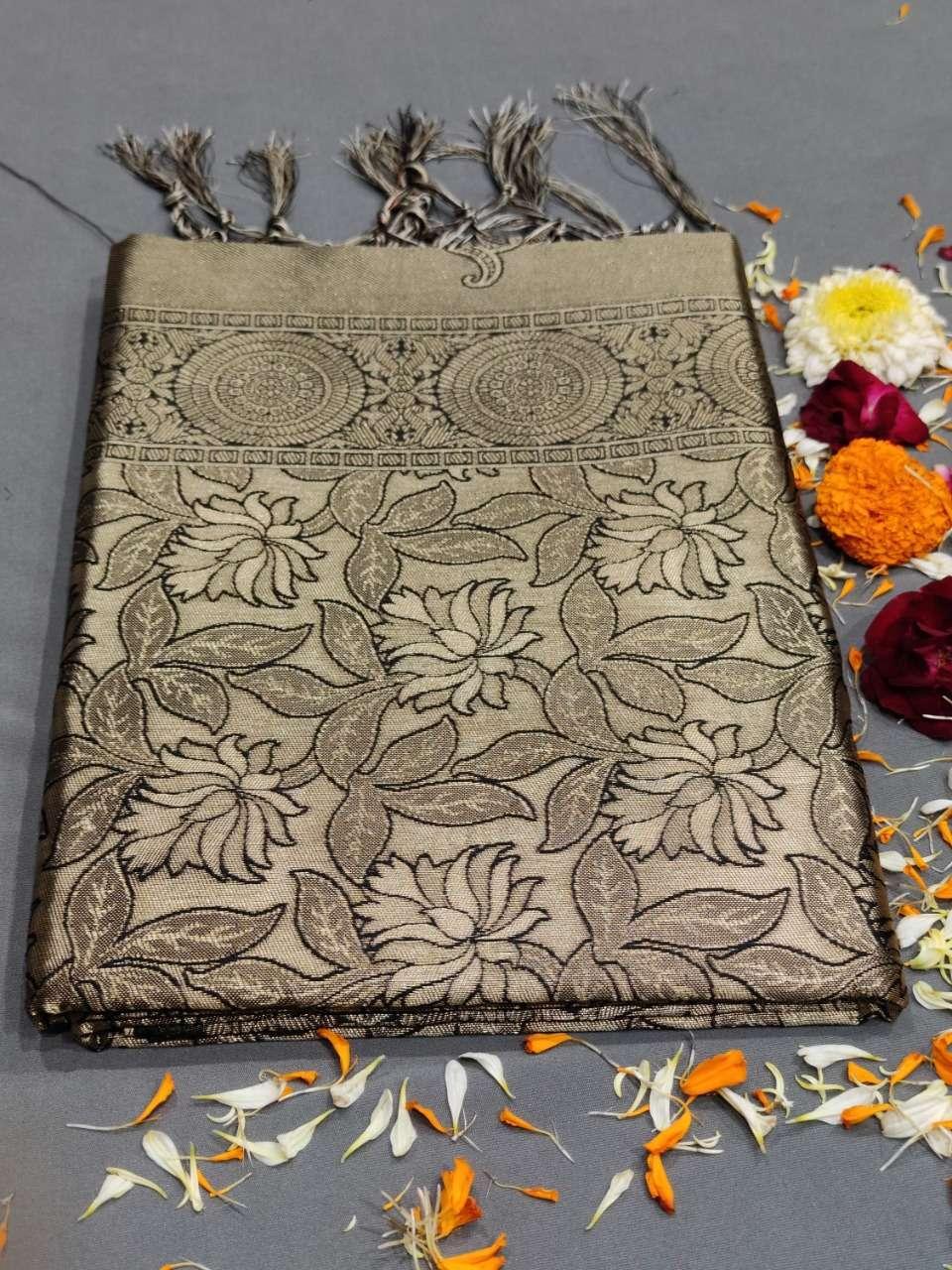 Ynf Panash Silk Kanjevaram Woven Pattern Saree  04