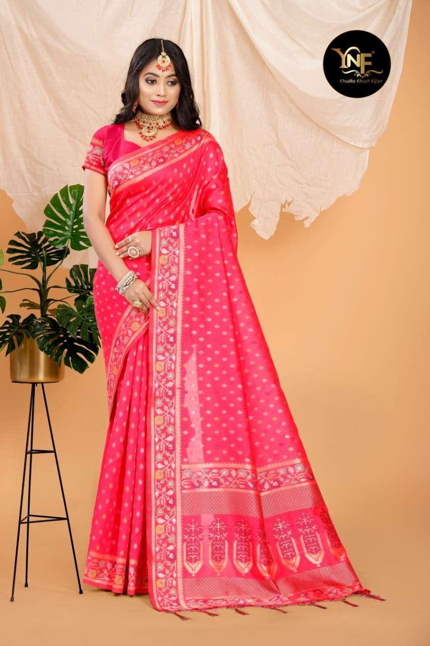 Ynf Pramam Silk Art Silk Woven Sarees Collection 01