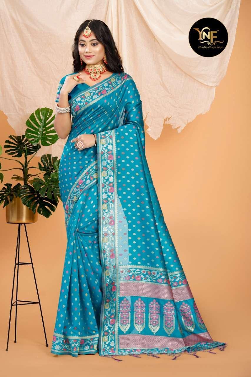 Ynf Pramam Silk Art Silk Woven Sarees Collection 02