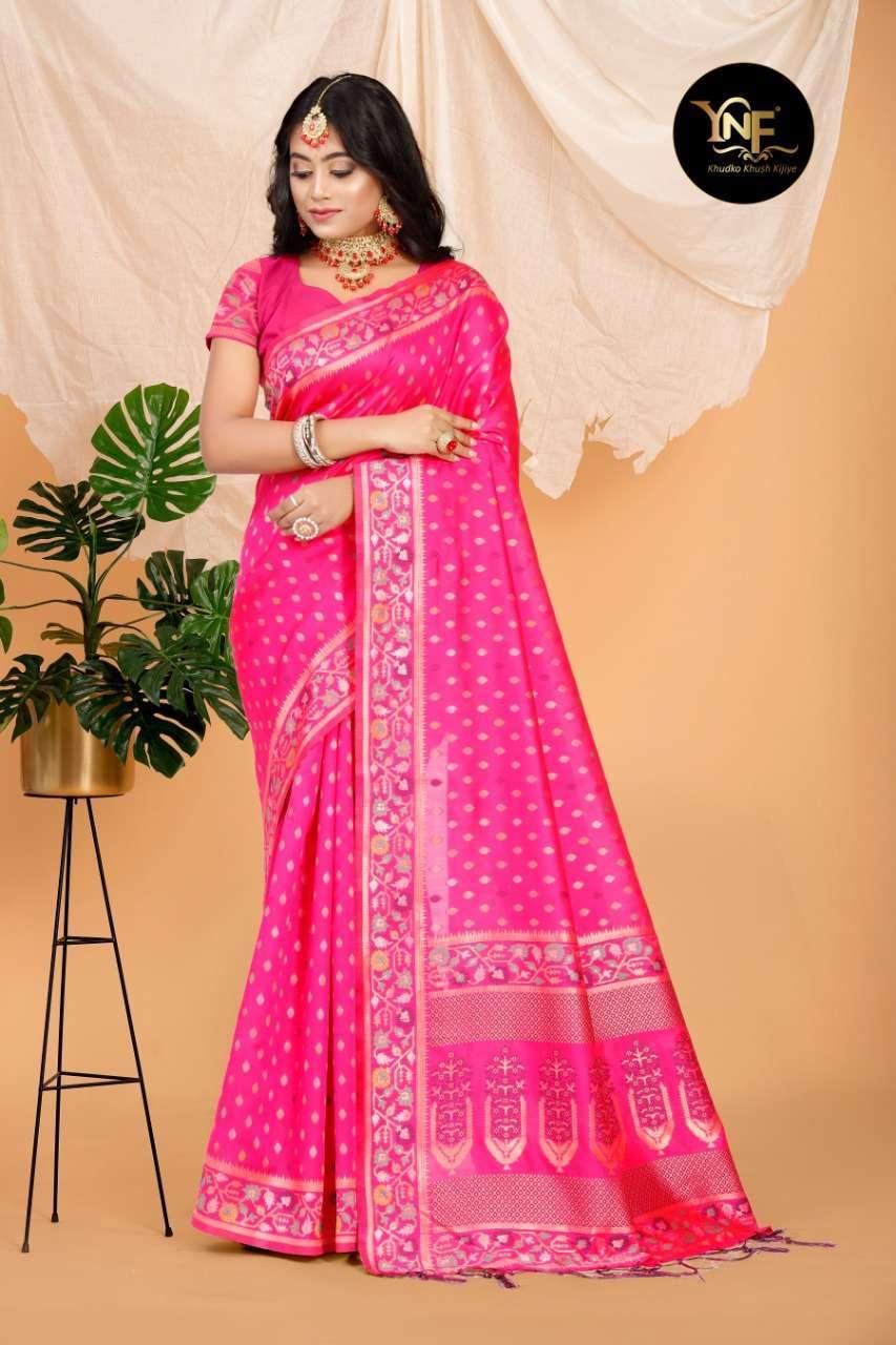 Ynf Pramam Silk Art Silk Woven Sarees Collection 03