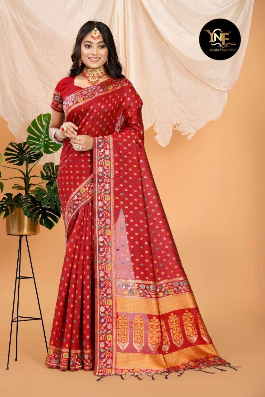 Ynf Pramam Silk Art Silk Woven Sarees Collection 05