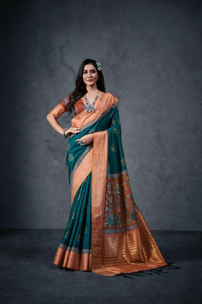 Aajrakh Silk Soft Cotton Sarees Collection