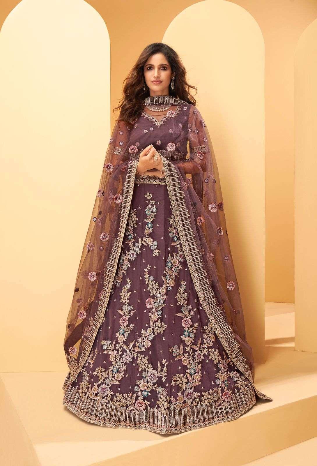 Alizeh Sangeet Vol 2 Silk With Embroidery Thread Work Designer Lehenga Choli Collection  1024