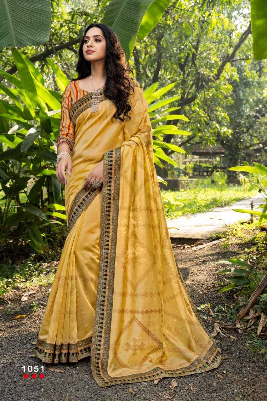 Angarika Moonlight Chanderi Silk With Digital Print Saree Collection AT WHOLESALE RATE