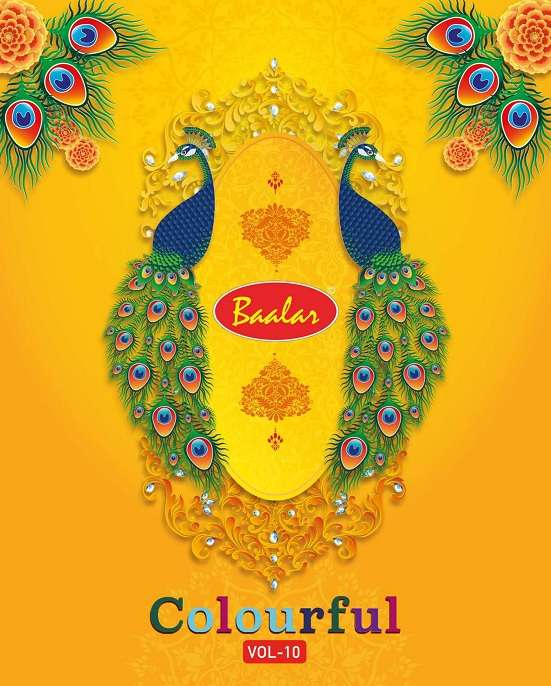 Baalar Colourful Vol 10 Readymade Salwar kameez