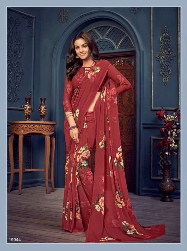BELA CORAL COTTON WITH EMBROIDERY WORK SAREE COLLECTION 013