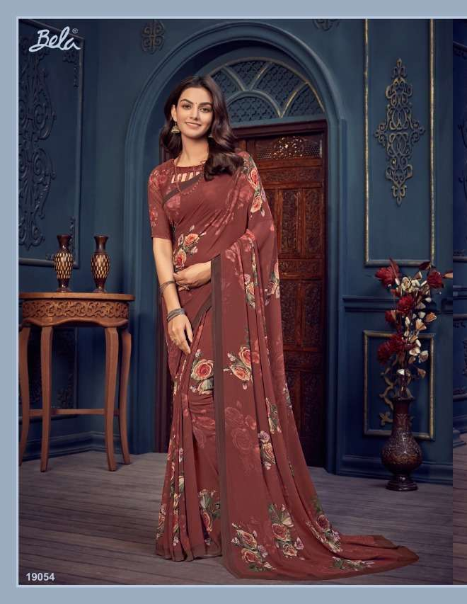 Bela Fashion Rosemary Vol 14 Georgette With Printed Sarees Collection 011