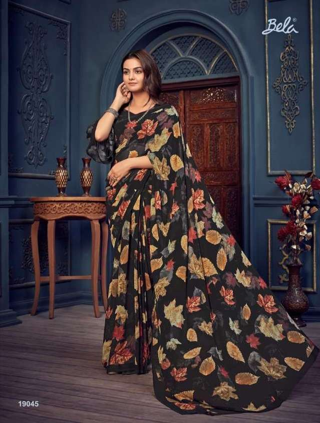 Bela Fashion Rosemary Vol 14 Georgette With Printed Sarees Collection 014
