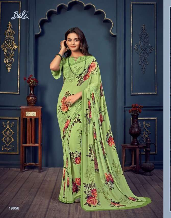 Bela Fashion Rosemary Vol 14 Georgette With Printed Sarees Collection 017