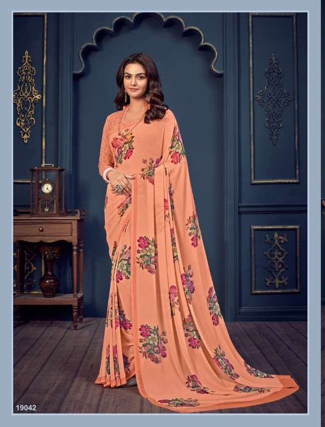 Bela Fashion Rosemary Vol 14 Georgette With Printed Sarees Collection 021