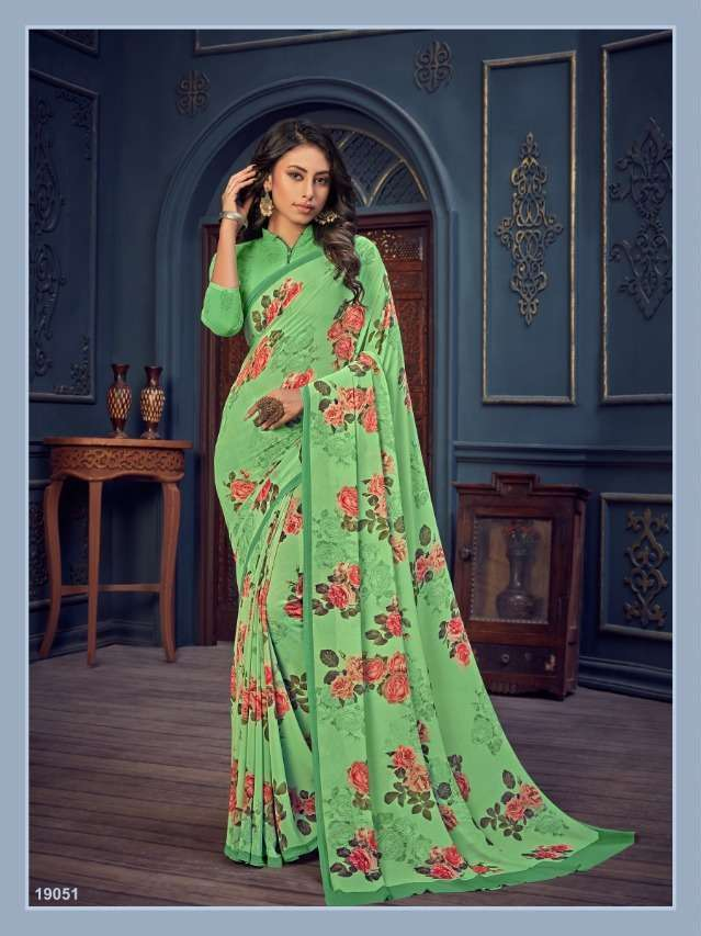 Bela Fashion Rosemary Vol 14 Georgette With Printed Sarees Collection 08