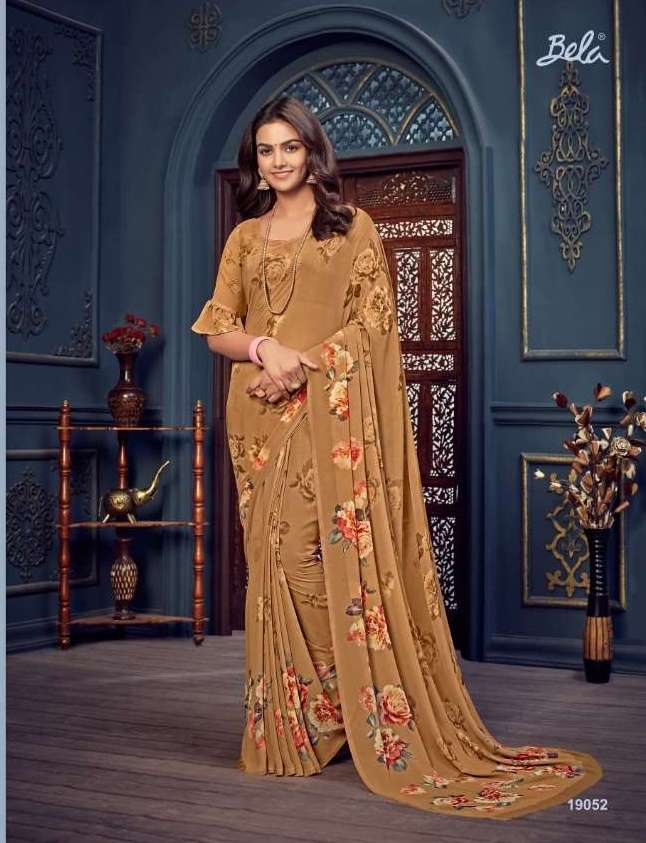 Bela Fashion Rosemary Vol 14 Georgette With Printed Sarees Collection 09