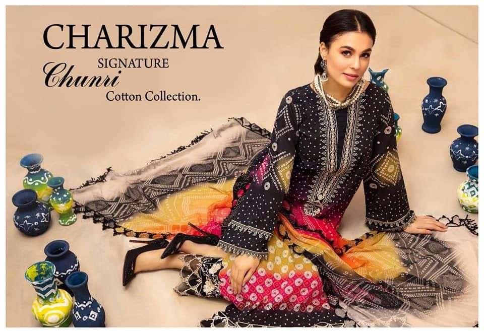 Charizma Signature Chunri Cotton Printed Pakistani Collection