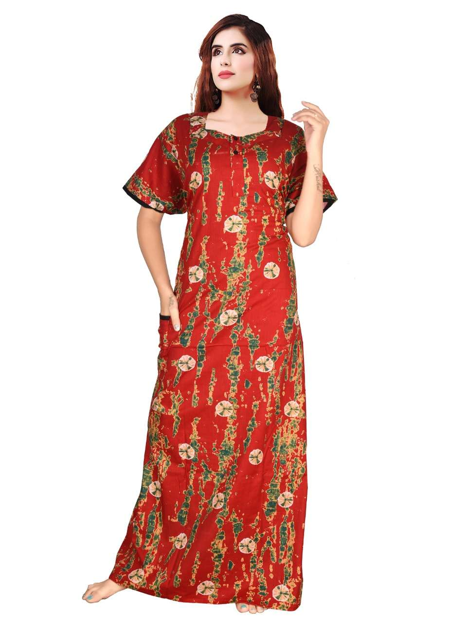 COTTON NIGHTY COLLETION FOR WOMEN AT WHOLESALE PRICE