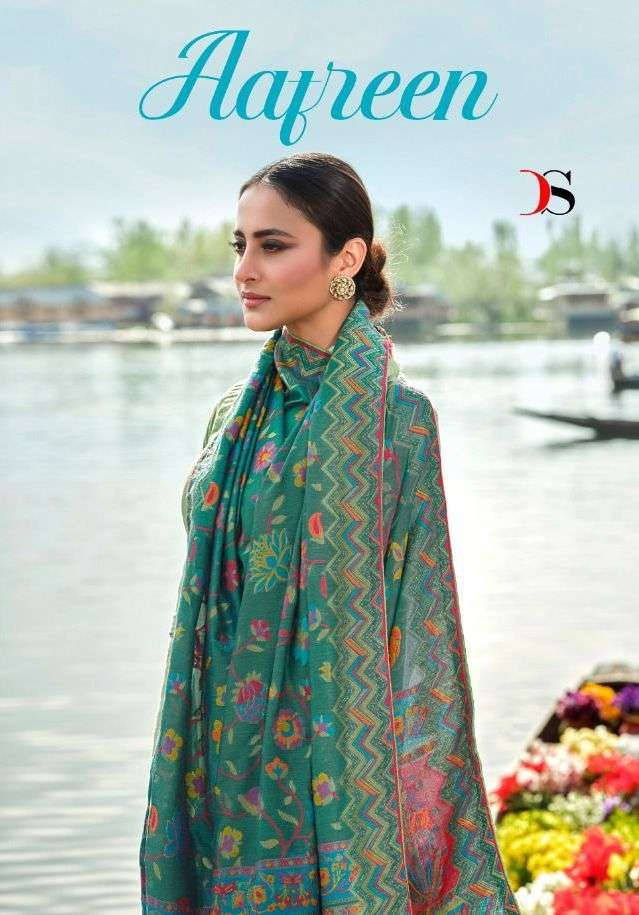 Deepsy Suits Aafreen Silk With Embroidery Work Dress Material Collection