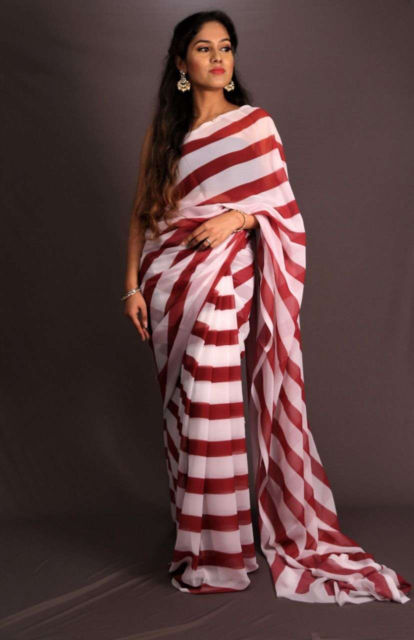 DEVIKA SOFT GEORGETTE WITH DIGITAL PRINT SAREE COLLECTION