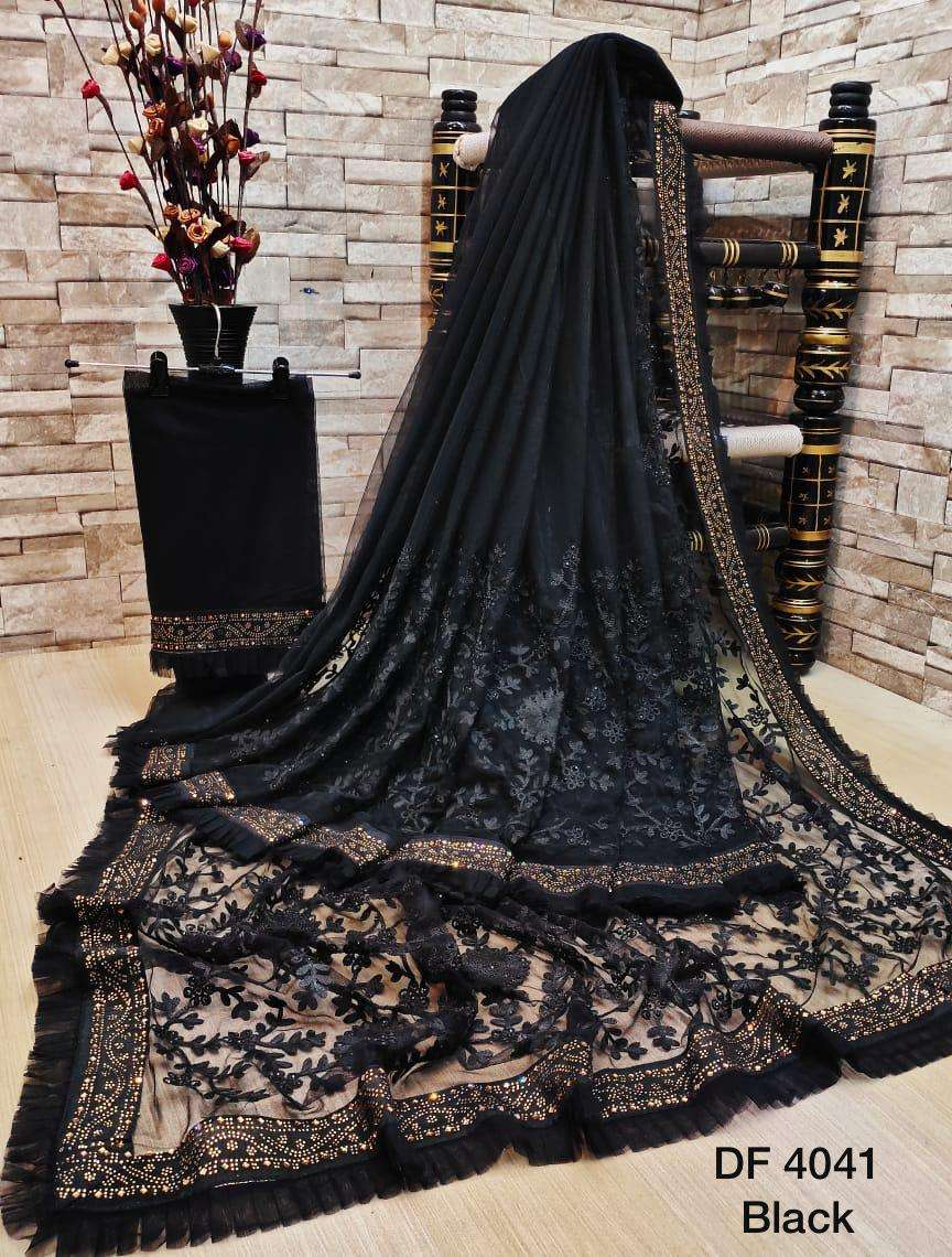 Df 4041 Latest Soft Net Sarees Incredible Collection 01