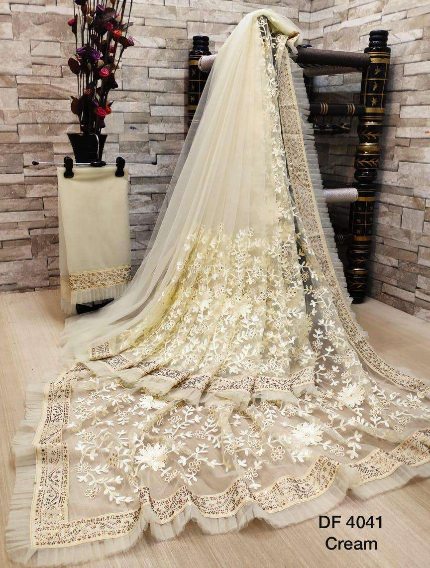 Df 4041 Latest Soft Net Sarees Incredible Collection 03
