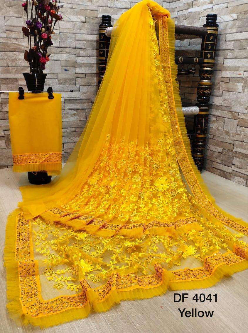 Df 4041 Latest Soft Net Sarees Incredible Collection 06