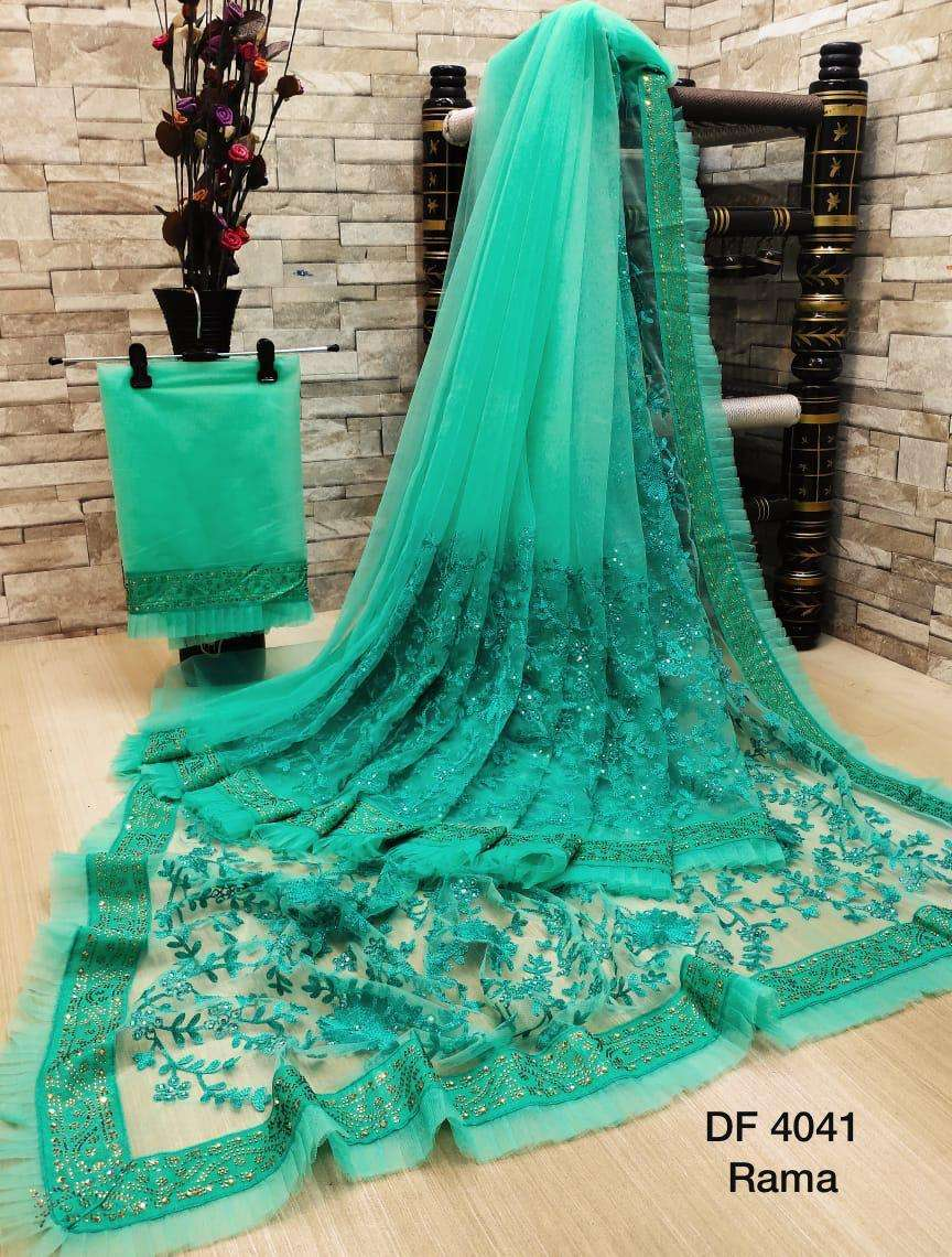 Df 4041 Latest Soft Net Sarees Incredible Collection 08