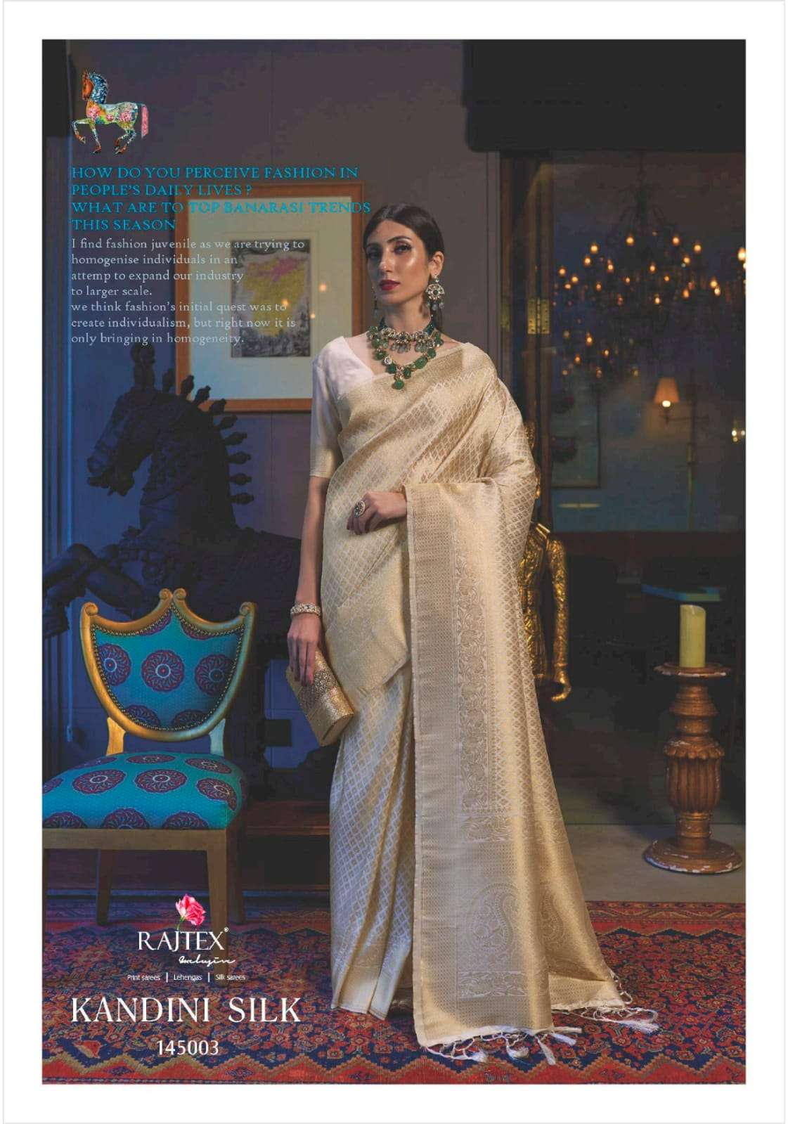 KANDINI SILK PARTY WEAR SAREE COLLECTION AT WHOLESALE RATE
