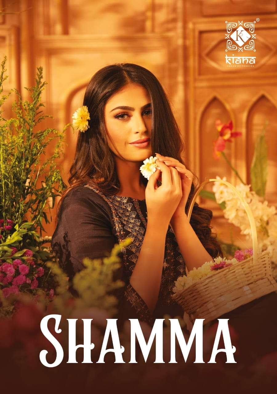 Kiana Shamma pure Muslin Hand Work Kurti With Pant Dupatta Collection