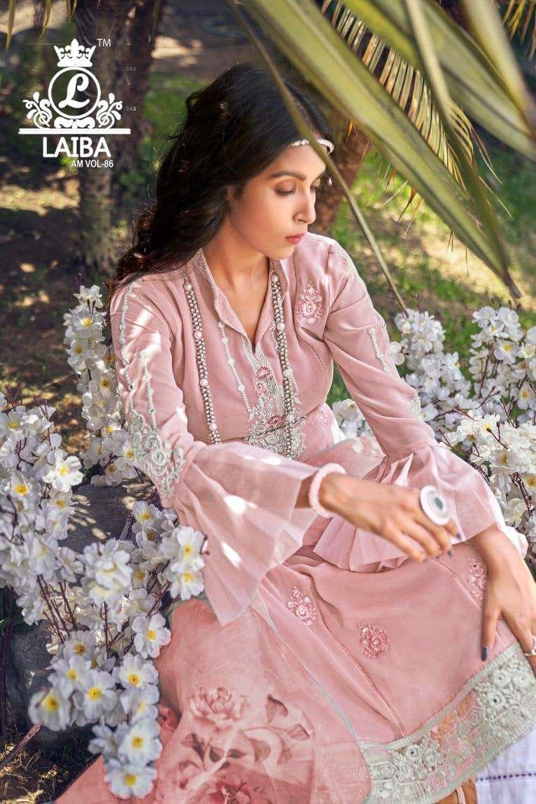 Laiba Am 86 PAKISTANI Mirror Luxury Ready Made Collection