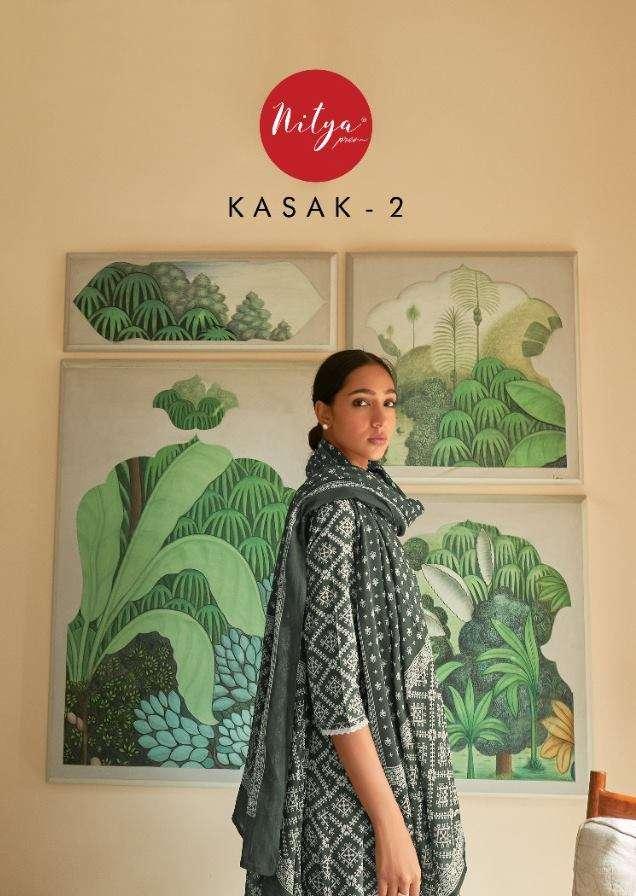 LT Fabrics Nitya Kasak Vol 2 Cotton With Work readymade Suits Collection