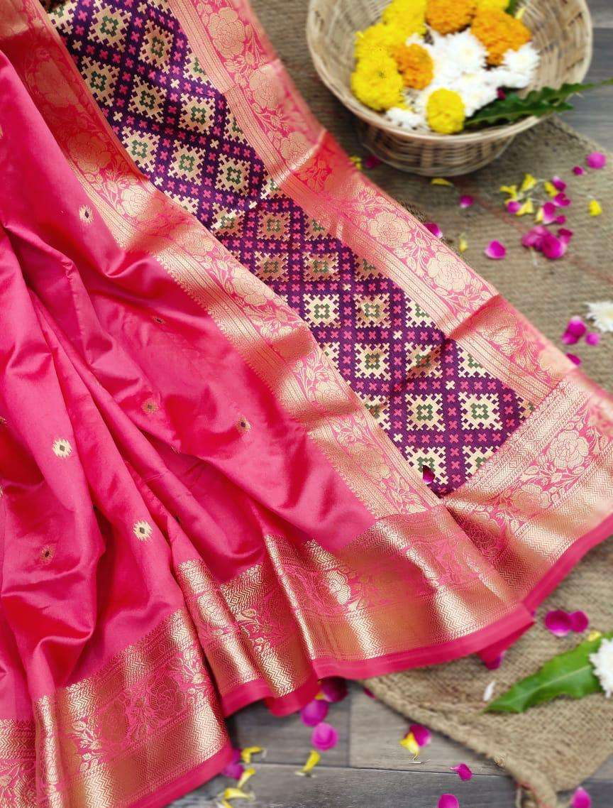 MADHURIMAA soft silk with weaving border saree collection