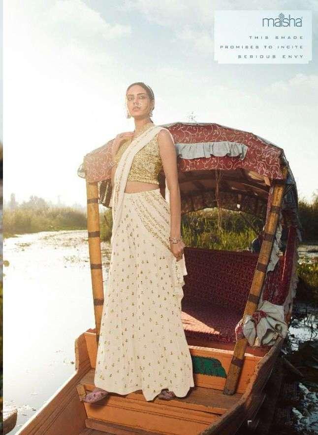 Maisha Veronica 9906 Series Viscose net With Embroidery Work Choli Collection