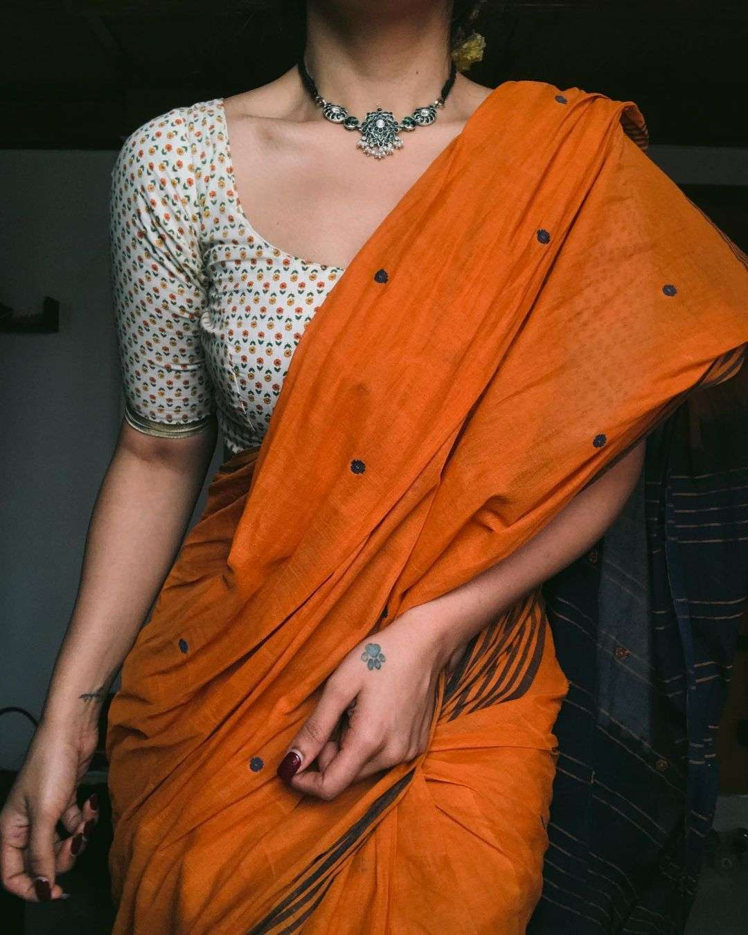 MAL MAL CHANDERI DIGITAL PRINT SAREE EXCLUSIVE BOUTIQUE COLLECTION AT WHOLESALE RATES