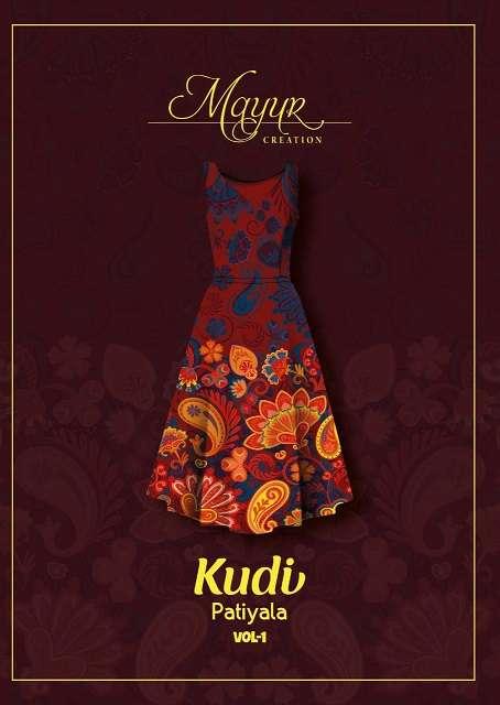 Mayur Kudi Patiyala Vol 1 LATEST PRINTED COTTON  SUIT SUPPLIER
