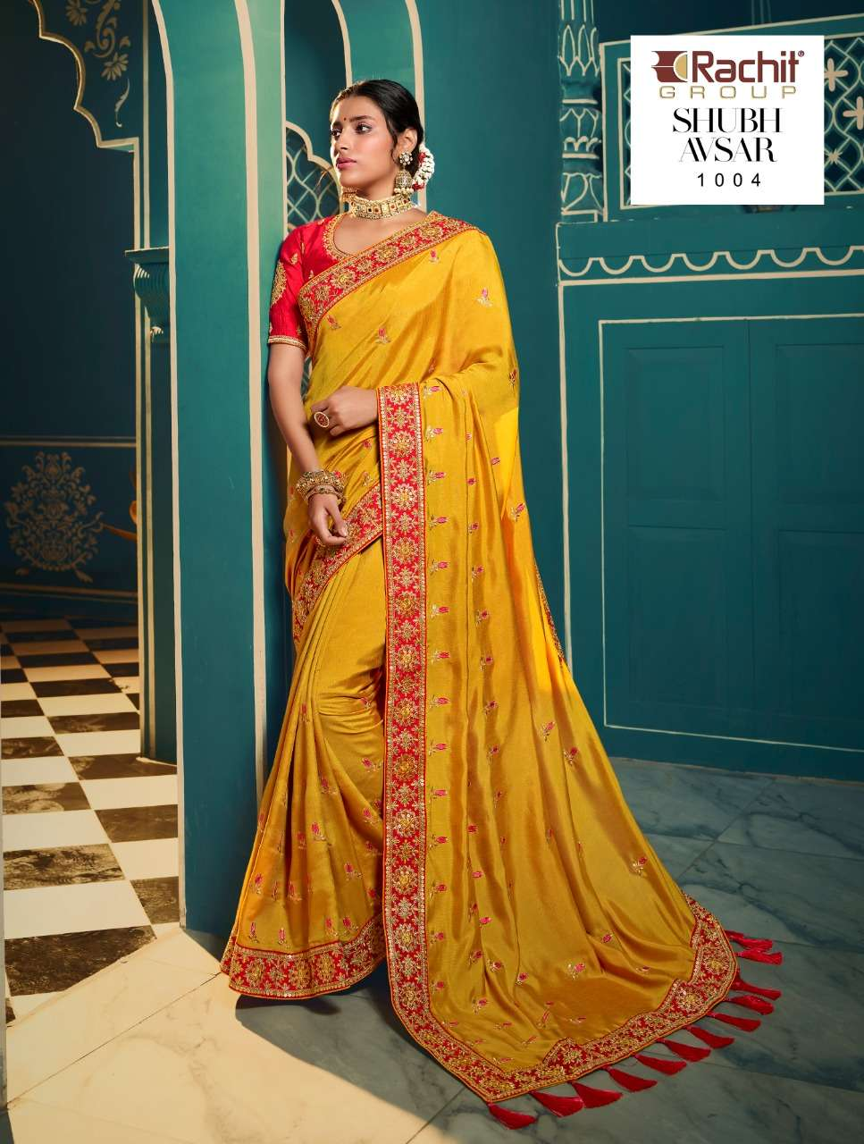 RACHIT AVSAR FANCY PARTY WEAR SAREE COLLECTION