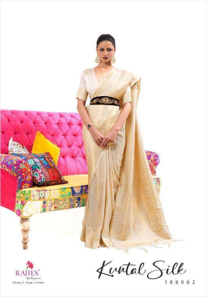 Rajtex Kuntal Silk Handloom Weaving Silk Sarees Collection 05