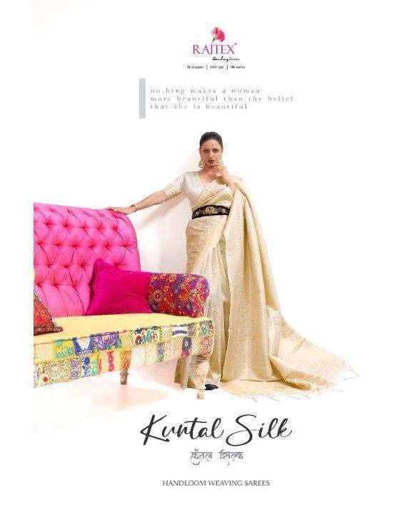 Rajtex Kuntal silk Handloom Weaving Silk Sarees Collection