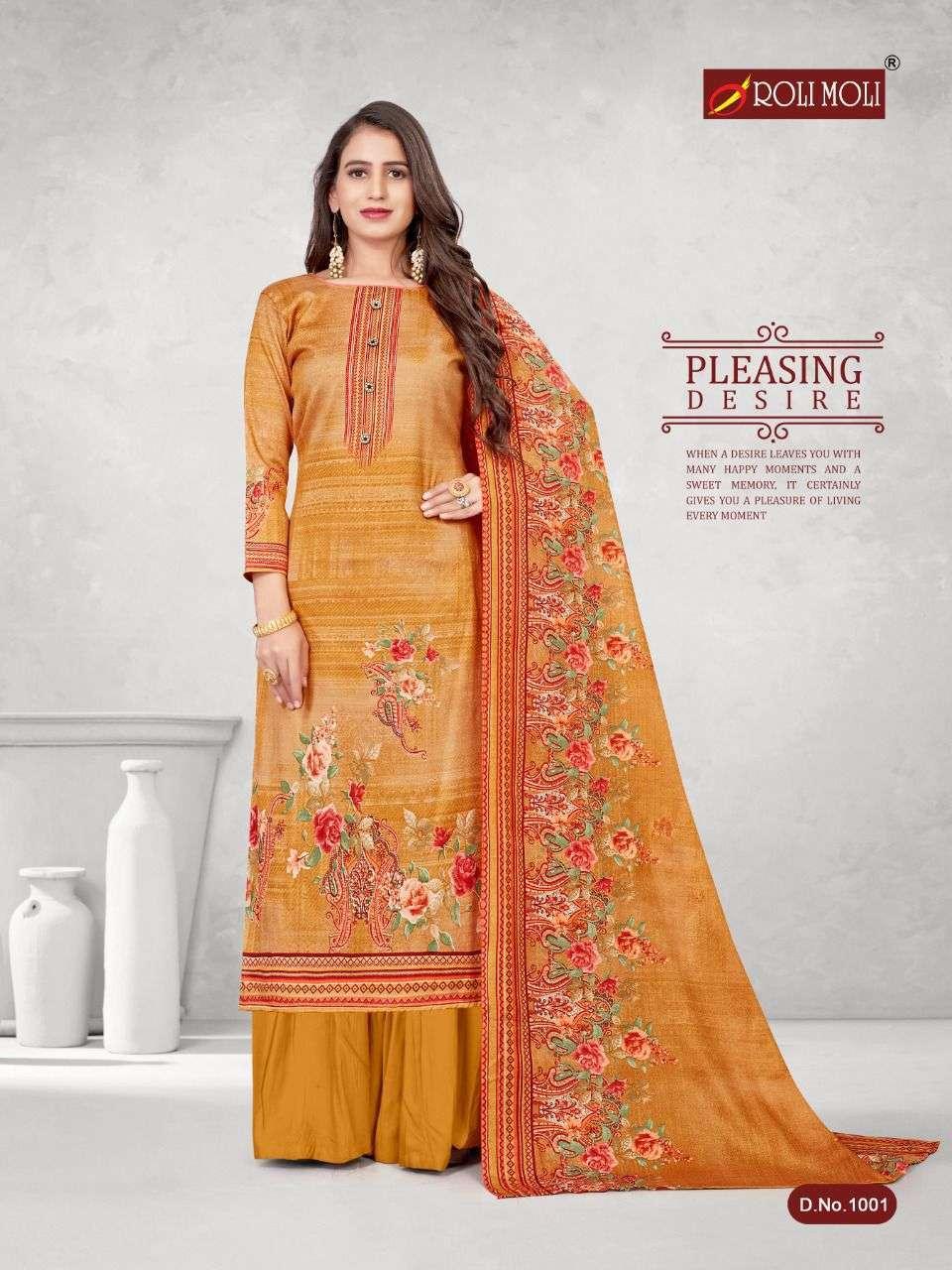 Roli Moli Kalki Pashmina Printed Dress Material Collection 01