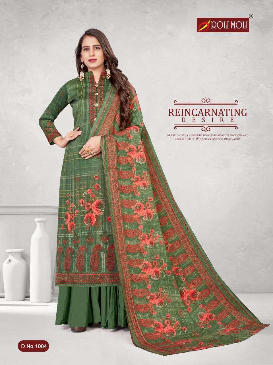 Roli Moli Kalki Pashmina Printed Dress Material Collection 02