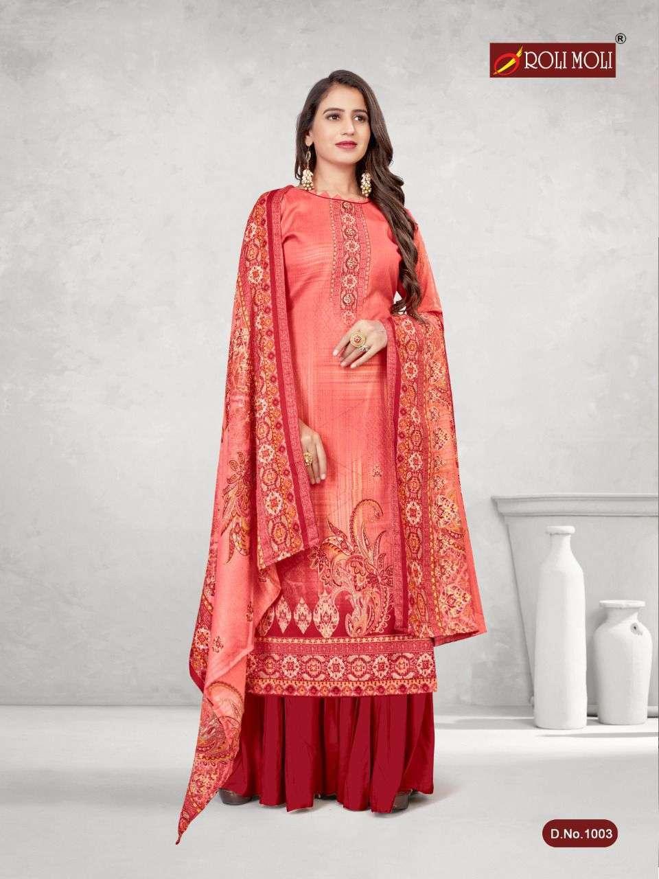 Roli Moli Kalki Pashmina Printed Dress Material Collection 04