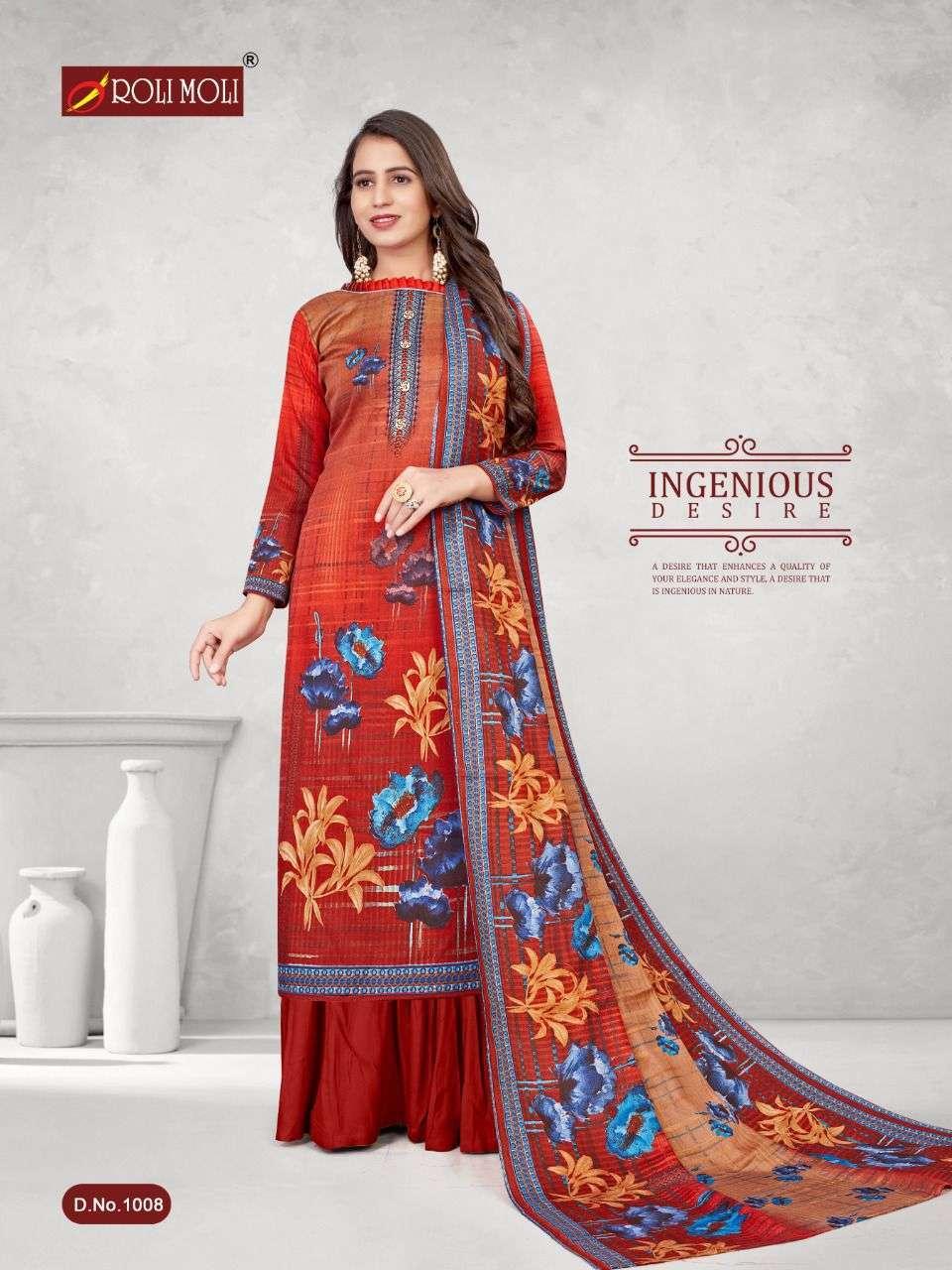 Roli Moli Kalki Pashmina Printed Dress Material Collection 05