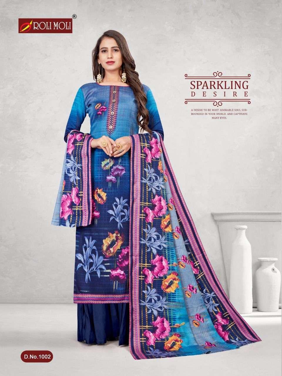 Roli Moli Kalki Pashmina Printed Dress Material Collection 08