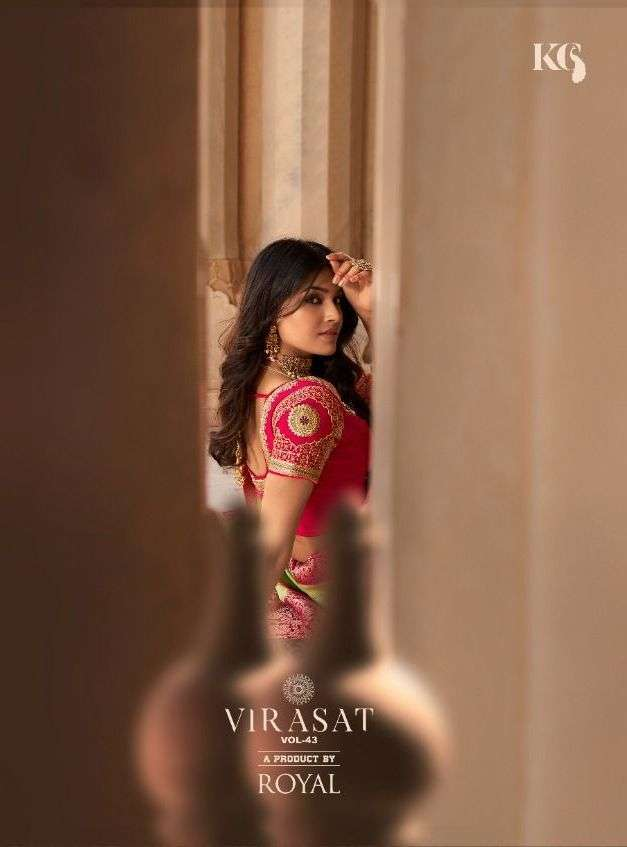 Royal Virasat Vol 43 Silk Designer Traditional Sarees Collection