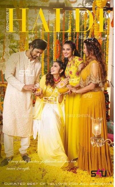 S4U Haldi Wedding Wear Western Suits Collection