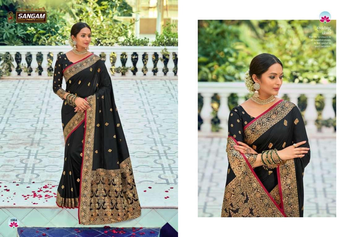 Sangam Prints Devanshi Silk Sarees Collection 05
