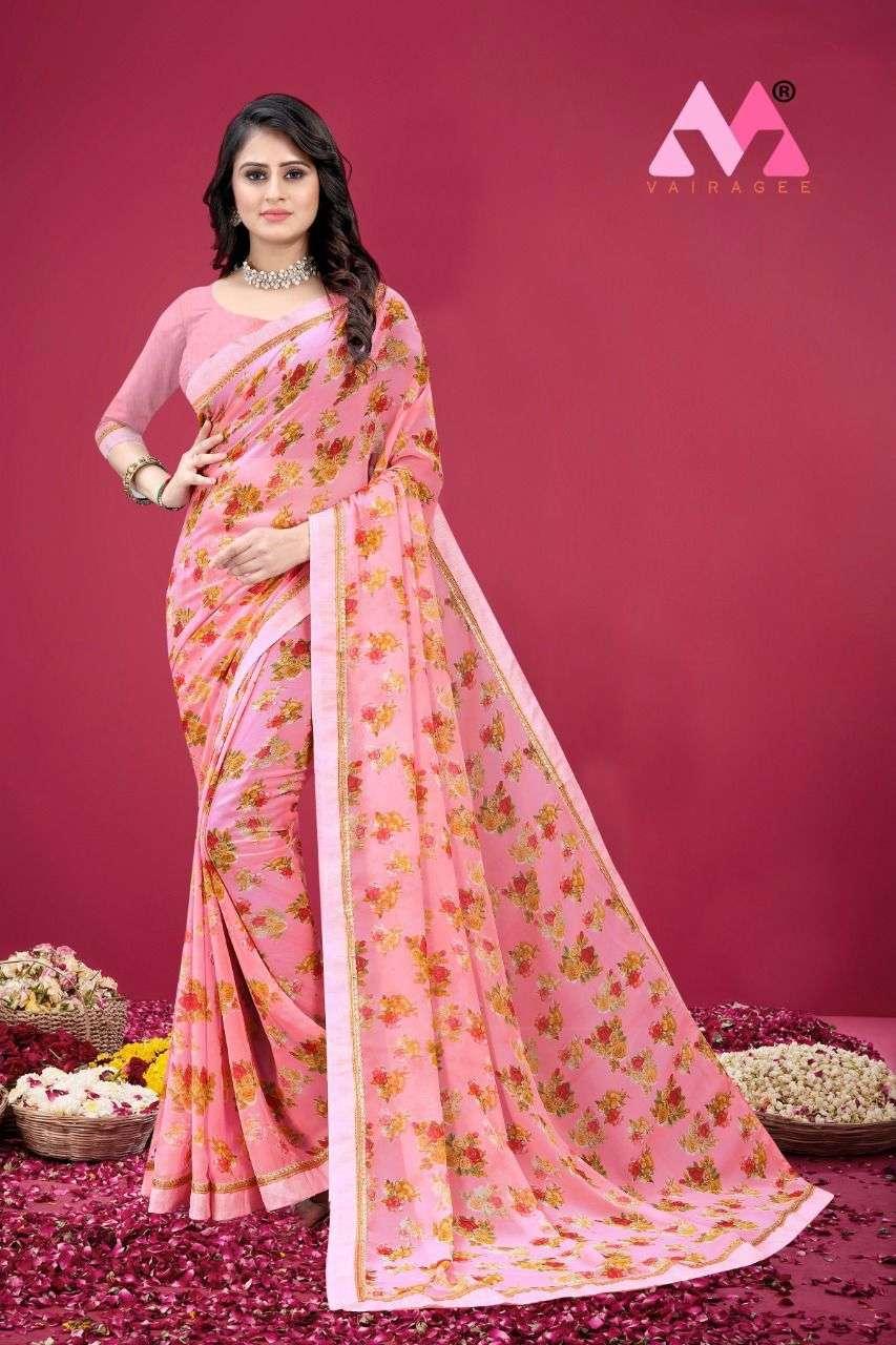 Saraswati Vol 7 Soft Georgette Printed Sarees collection