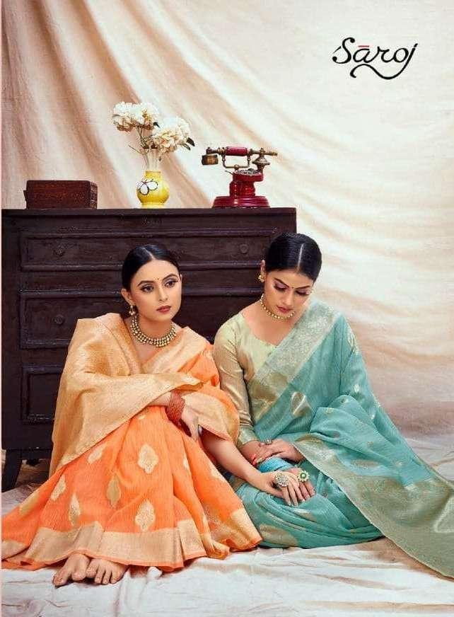 Saroj Sofia Vol 2 Banarasi Silk With Weaving Butta Sarees Collection