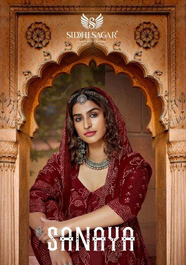 Siddhi Sagar Sanaya Pashmina Digital print Dress Material Collection