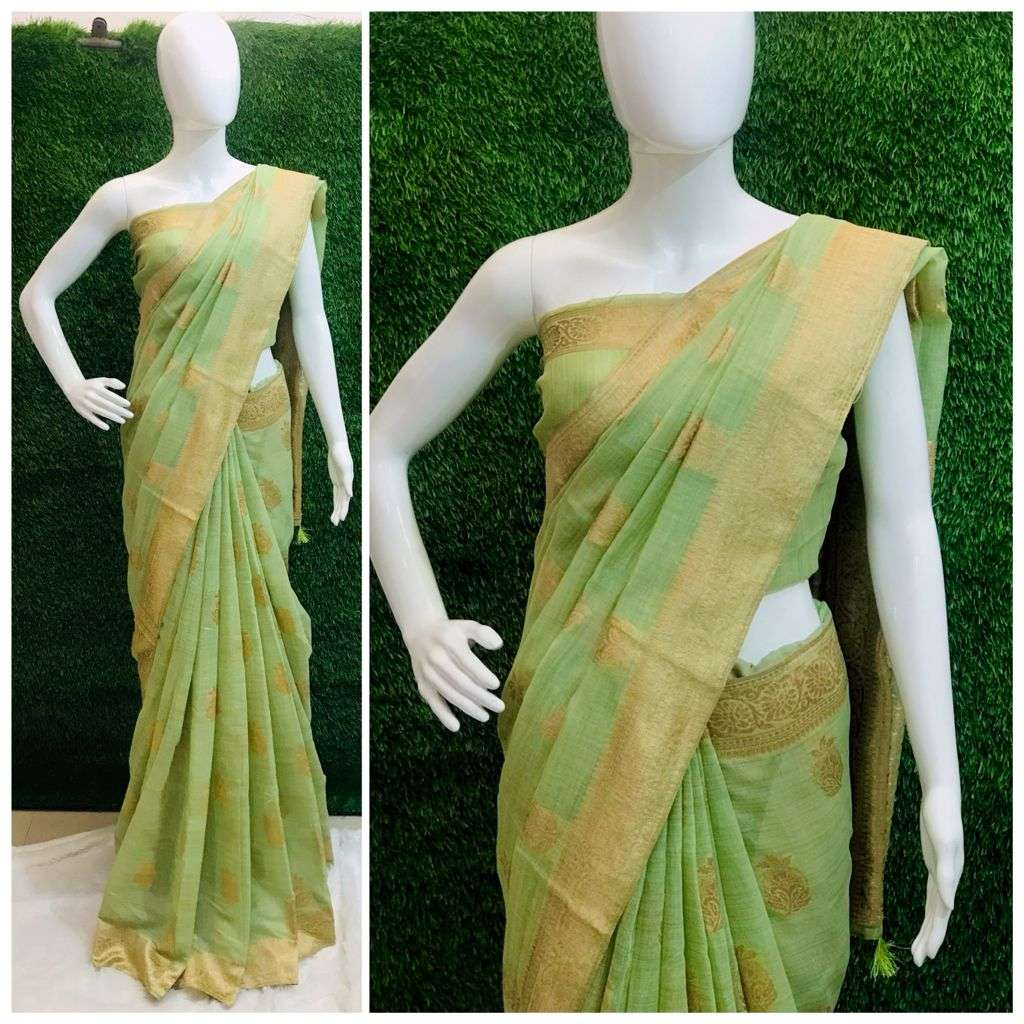SOFT COTTON SILK PARTY WEAR SAREE COLLECTION