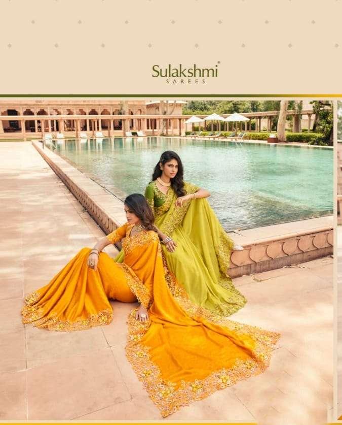 Sulakshmi Suvarna Fancy Designer Sarees Collection